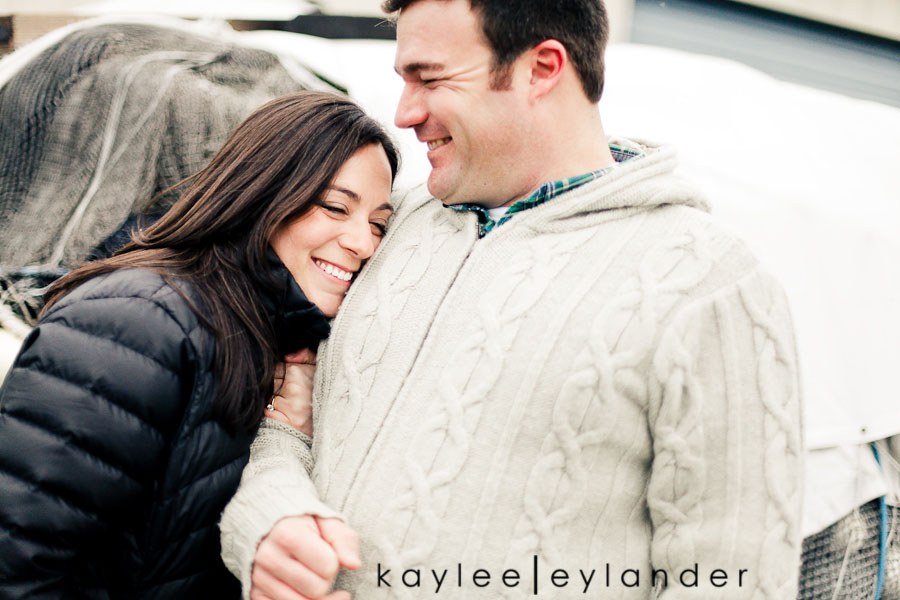 Bellingham Engagement Marina 8 Bellingham Engagement Session | Snow, Boats and Summer Camp