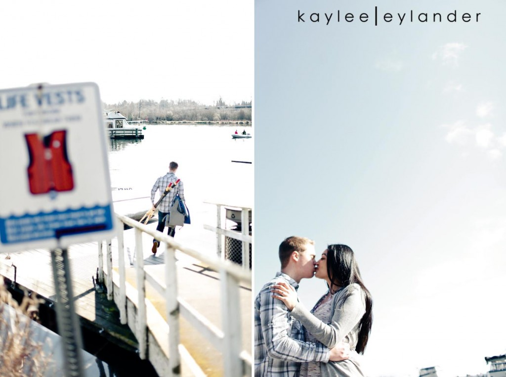 Chloe Josh 12 1024x763 Kerry Park & UW Row Boat Engagement Session | Chloe & Josh
