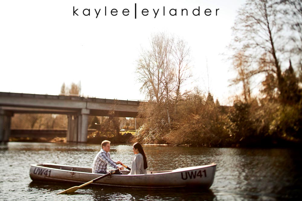 Chloe Josh 27 Kerry Park & UW Row Boat Engagement Session | Chloe & Josh