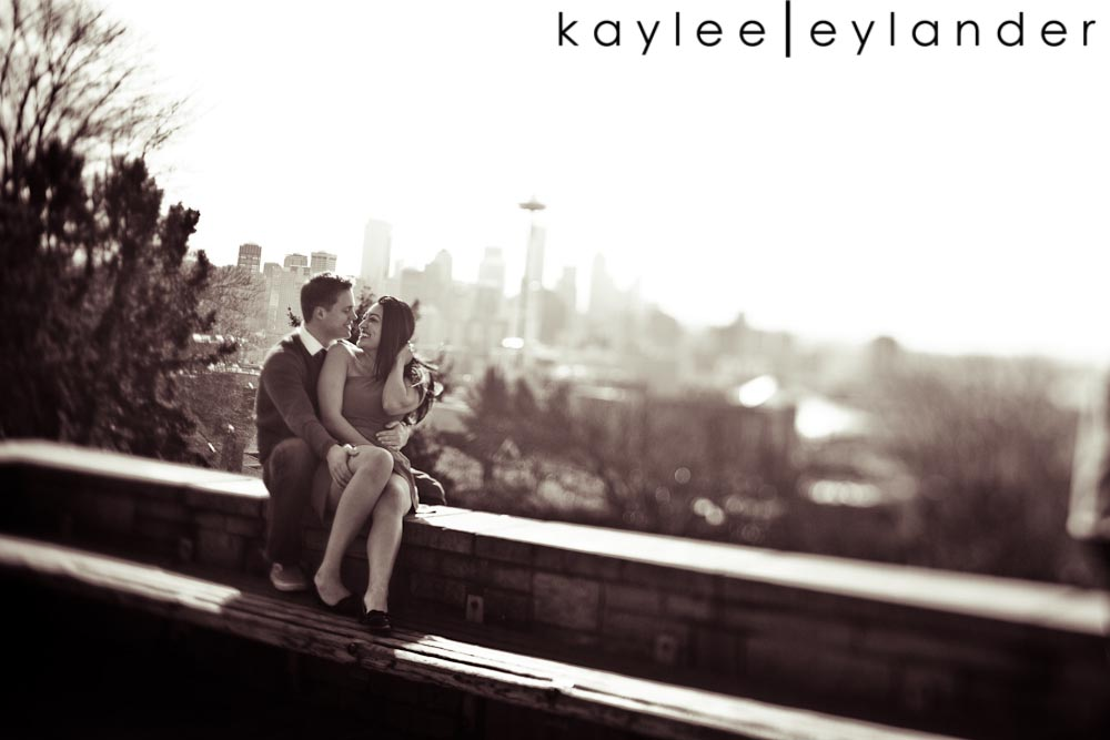 Chloe Josh 5 Kerry Park & UW Row Boat Engagement Session | Chloe & Josh