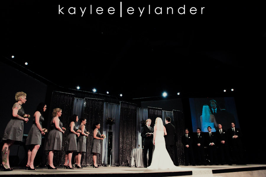 Christian Faith Center Wedding 10 Luke + Sarah | Modern Wedding Photographer | Kaylee Eylander Photography