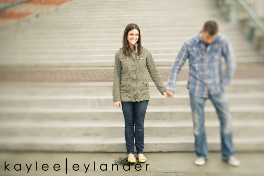 Modern Engagement Session 12 Kirkland Engagement Session | Erin & Tony