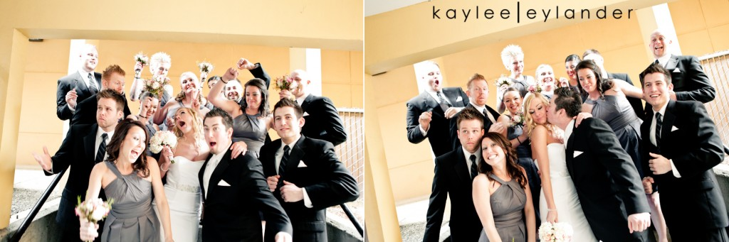 Modern Fun Wedding PARTY 31 1024x341 Luke + Sarah | Modern Wedding Photographer | Kaylee Eylander Photography
