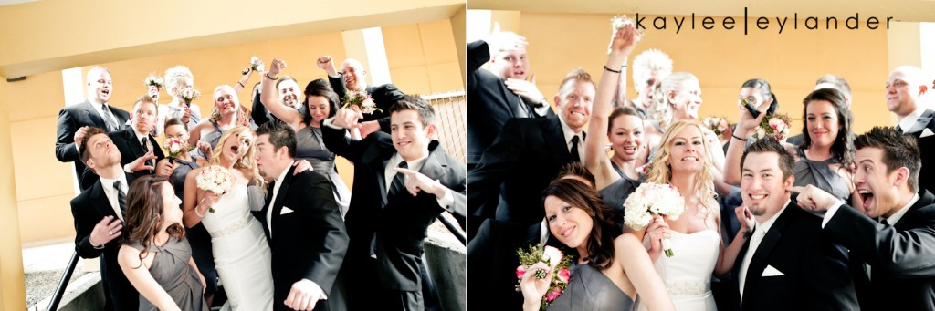 Modern Fun Wedding PARTY 32 1024x341 Luke + Sarah | Modern Wedding Photographer | Kaylee Eylander Photography