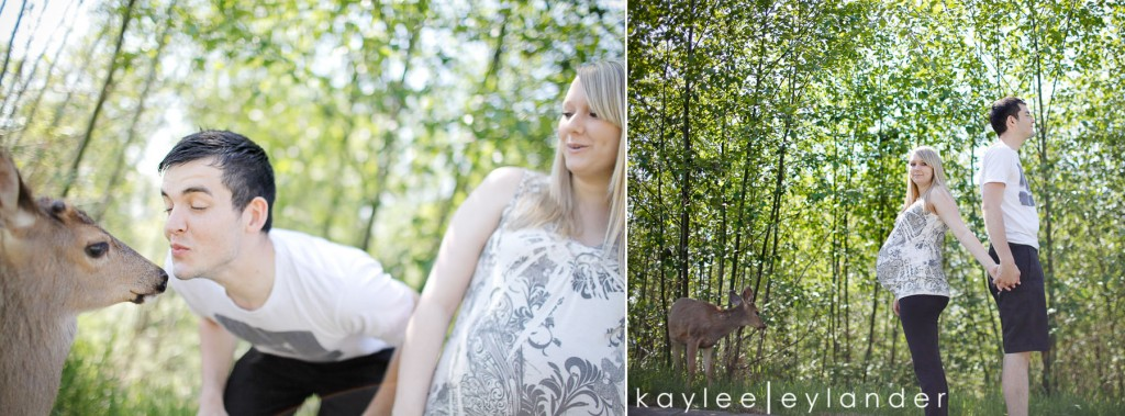 005 1024x379 Snohomish Maternity Photographer | Baby Bump and...a deer?