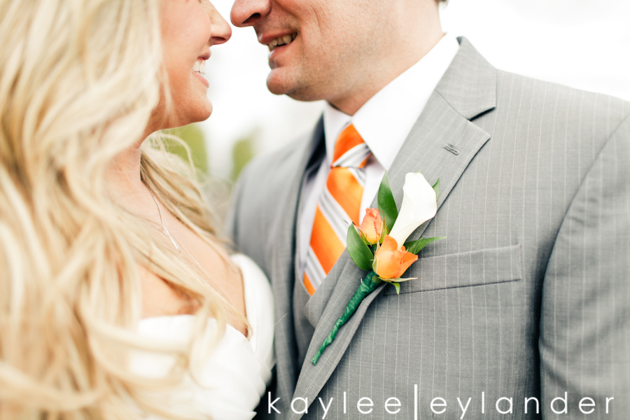 Hidden Meadows Wedding 181 Hidden Meadows Wedding | Orange, Ruffles and Polka Dots!