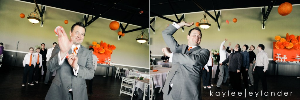 Snohomish Hidden Meadows Wedding Photographer 524 1024x341 Hidden Meadows Wedding | Orange, Ruffles and Polka Dots!