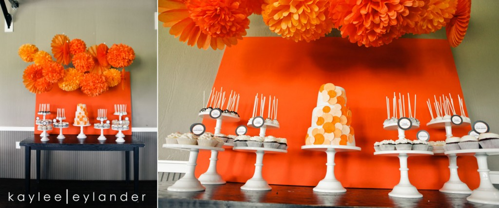 Snohomish Hidden Meadows Wedding Photographer 535 1024x427 Hidden Meadows Wedding | Orange, Ruffles and Polka Dots!