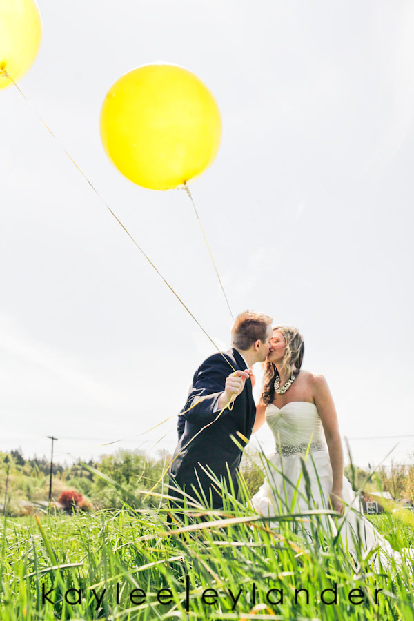 Yellow balloon wedding 37 Yellow Balloons & Sparkly Dress in a Green Field | Summer Wedding Inspiration