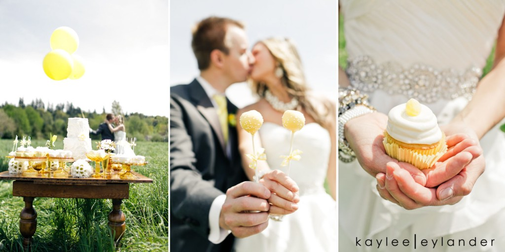 Yellow balloon wedding 80 1024x512 Yellow Balloons & Sparkly Dress in a Green Field | Summer Wedding Inspiration