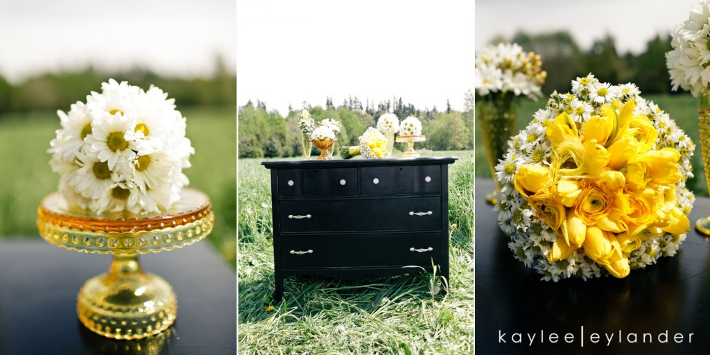 Yellow balloon wedding 86 1024x512 Yellow Balloons & Sparkly Dress in a Green Field | Summer Wedding Inspiration