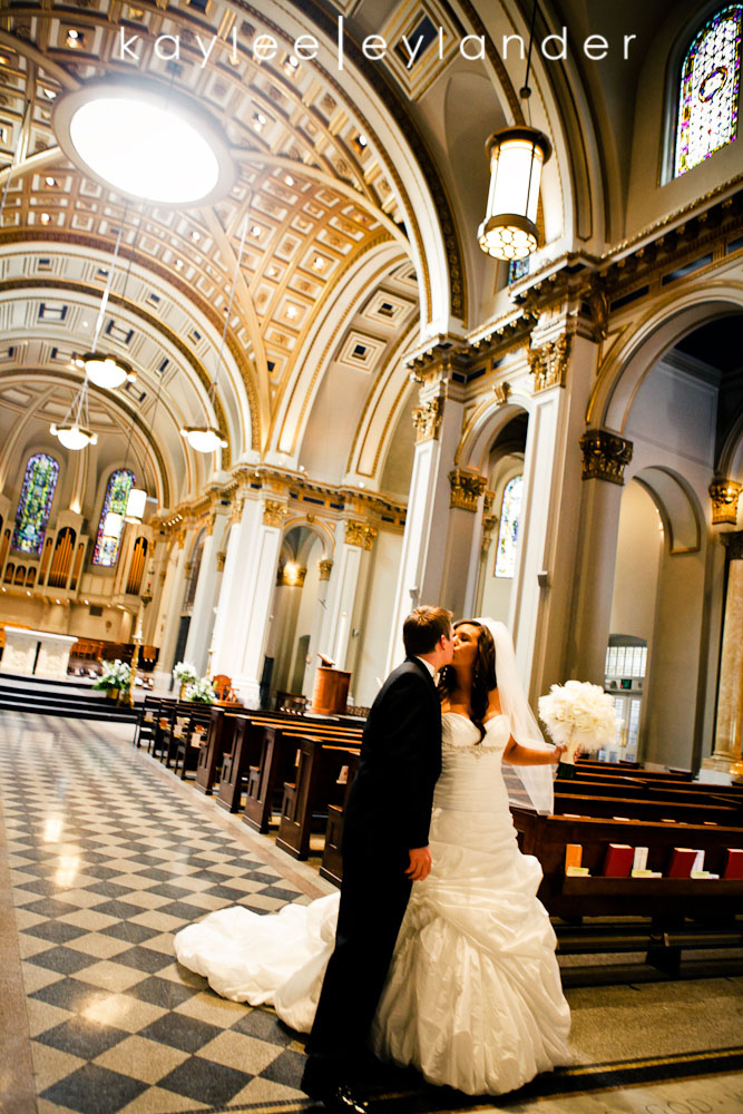 Glam Modern Wedding Seattle 38 St. James Cathedral & Kensington Gardens Modern Glam Wedding
