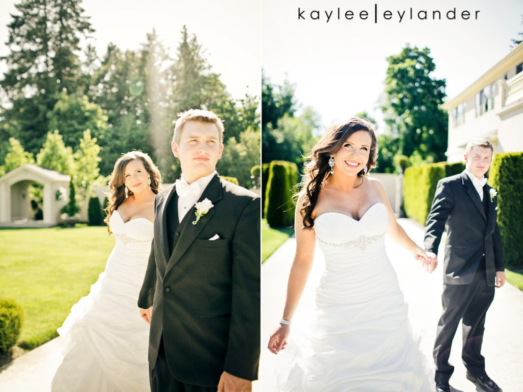 Glam Modern Wedding Seattle 52 1024x767 St. James Cathedral & Kensington Gardens Modern Glam Wedding