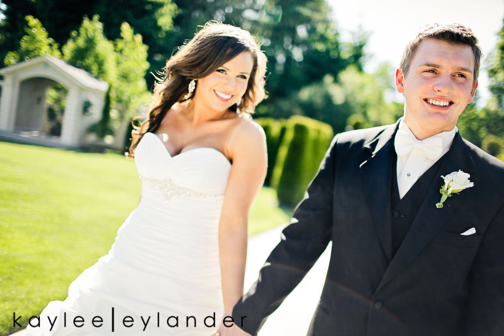 Glam Modern Wedding Seattle 54 St. James Cathedral & Kensington Gardens Modern Glam Wedding