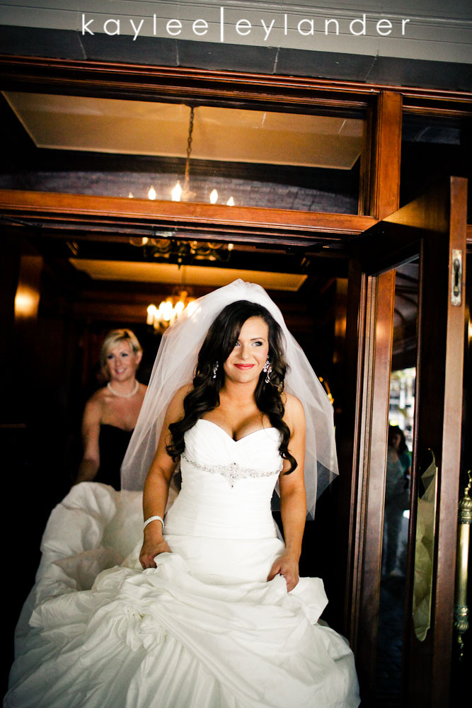 Glam Modern Wedding Seattle 9 St. James Cathedral & Kensington Gardens Modern Glam Wedding