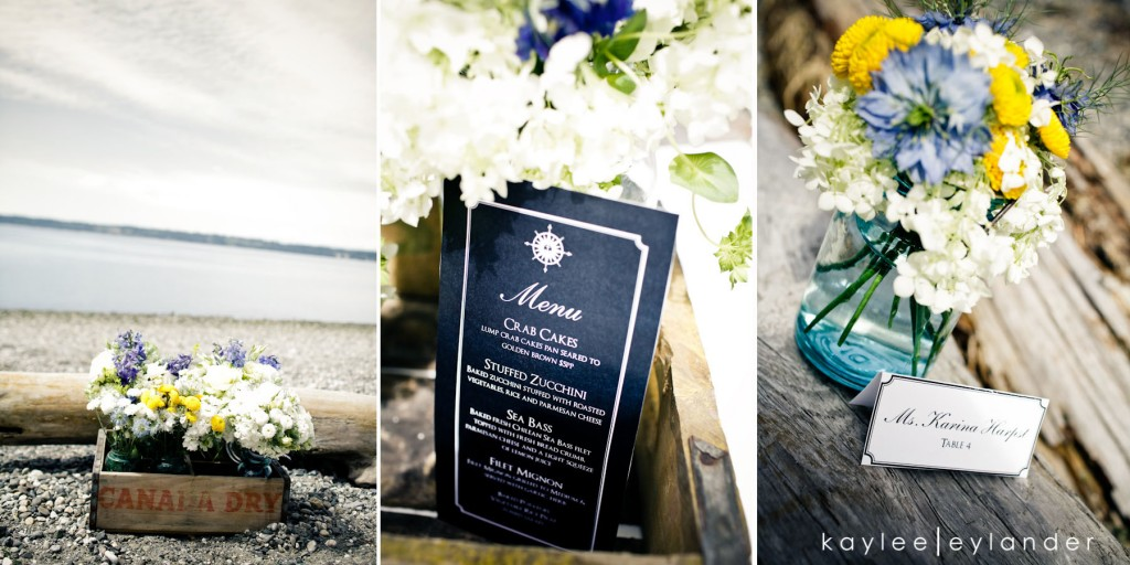 Nautical Beach Wedding 24 1024x512 Vintage Nautical Beach Wedding | Stylized Shoot
