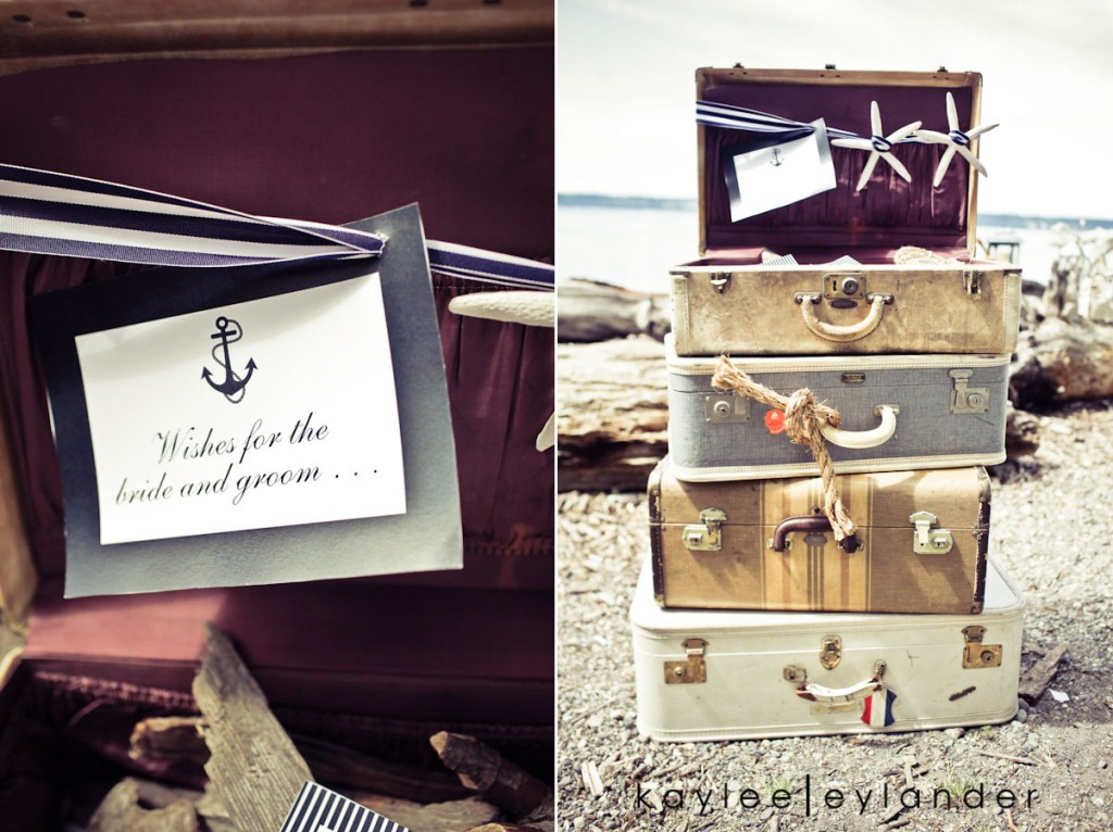 Nautical Beach Wedding 8 1024x766 Vintage Nautical Beach Wedding | Stylized Shoot