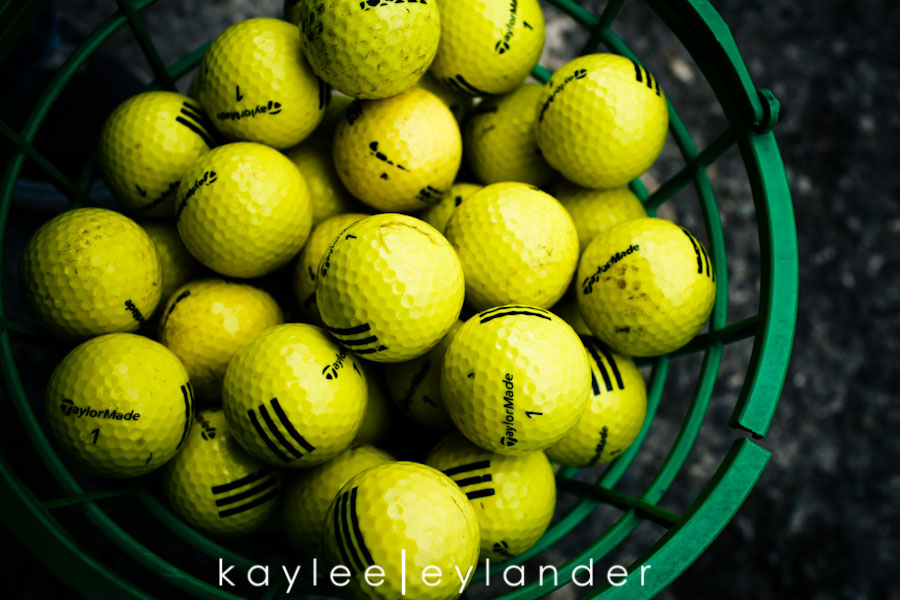 Snohomish Family Photographer 1 Happy Fathers Day to my favorite Man! | 1 Dad, 2 kids and a bucket of golfballs!