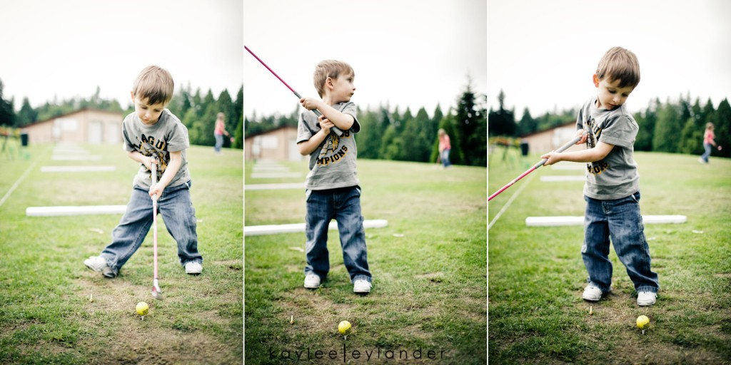 Snohomish Family Photographer 27 1024x512 Happy Fathers Day to my favorite Man! | 1 Dad, 2 kids and a bucket of golfballs!