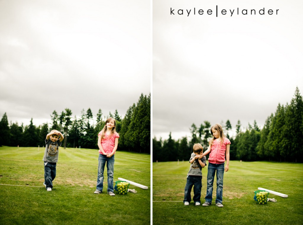 Snohomish Family Photographer 5 1024x762 Happy Fathers Day to my favorite Man! | 1 Dad, 2 kids and a bucket of golfballs!