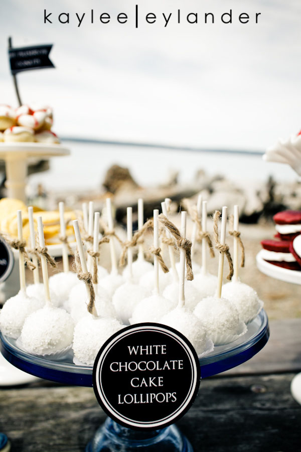 Nautical Beach Wedding 18 Jenny Cookie | Dessert Tables & Dessert Bars