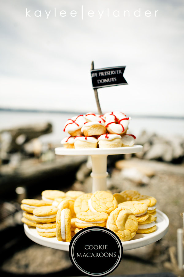 Nautical Beach Wedding 20 Jenny Cookie | Dessert Tables & Dessert Bars