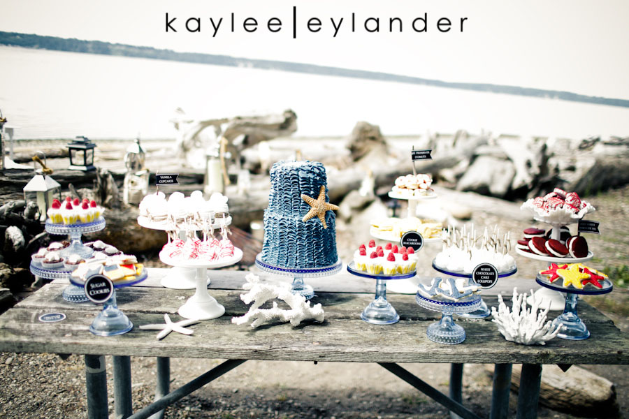 Nautical Beach Wedding 5 Jenny Cookie | Dessert Tables & Dessert Bars