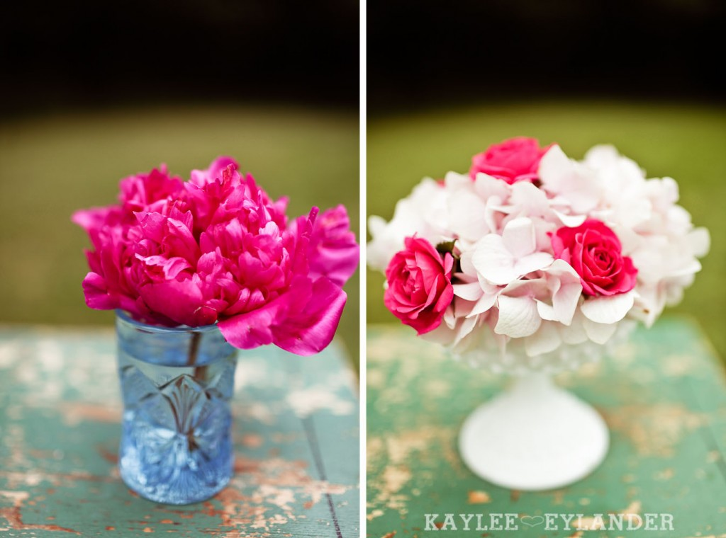 Turquoise and Pink Vintage Wedding 12 1024x760 Vintage Turquoise & Pink Wedding | Stylized Garden Wedding Shoot