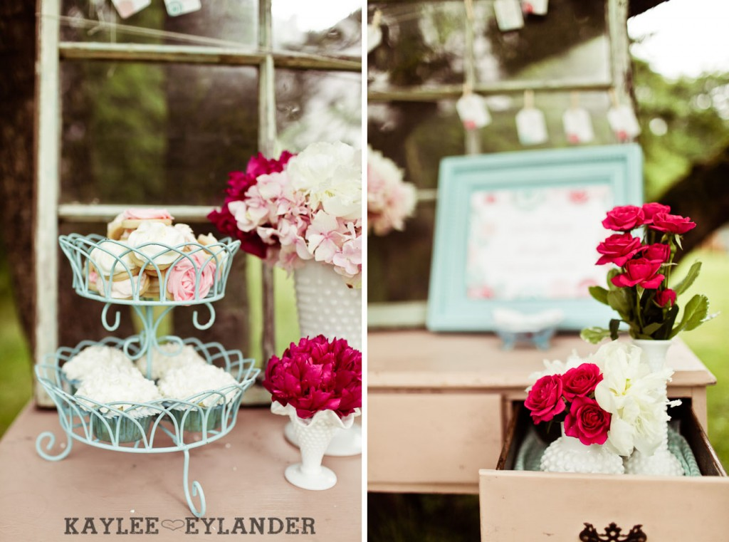 Turquoise and Pink Vintage Wedding 16 1024x761 Vintage Turquoise & Pink Wedding | Stylized Garden Wedding Shoot