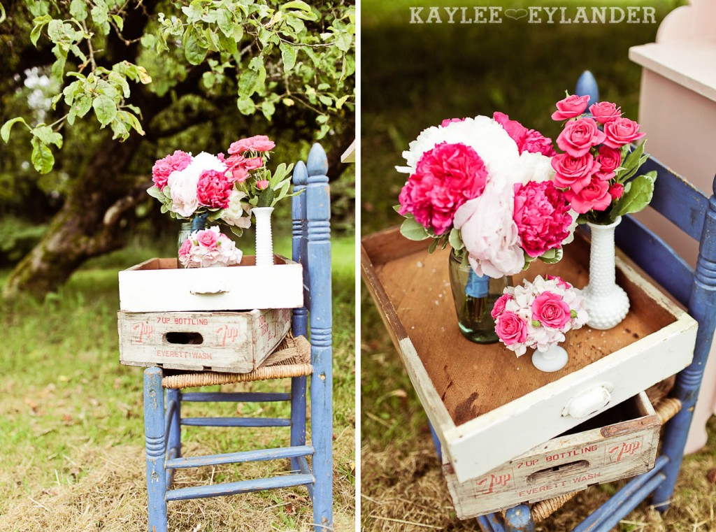 Turquoise and Pink Vintage Wedding 29 1024x761 Vintage Turquoise & Pink Wedding | Stylized Garden Wedding Shoot
