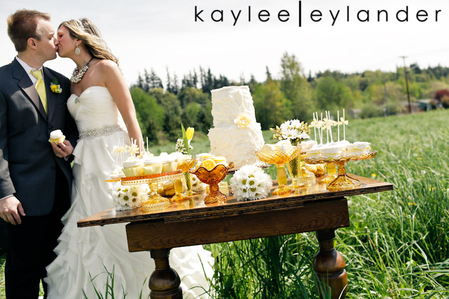 Yellow balloon wedding 83 Jenny Cookie | Dessert Tables & Dessert Bars