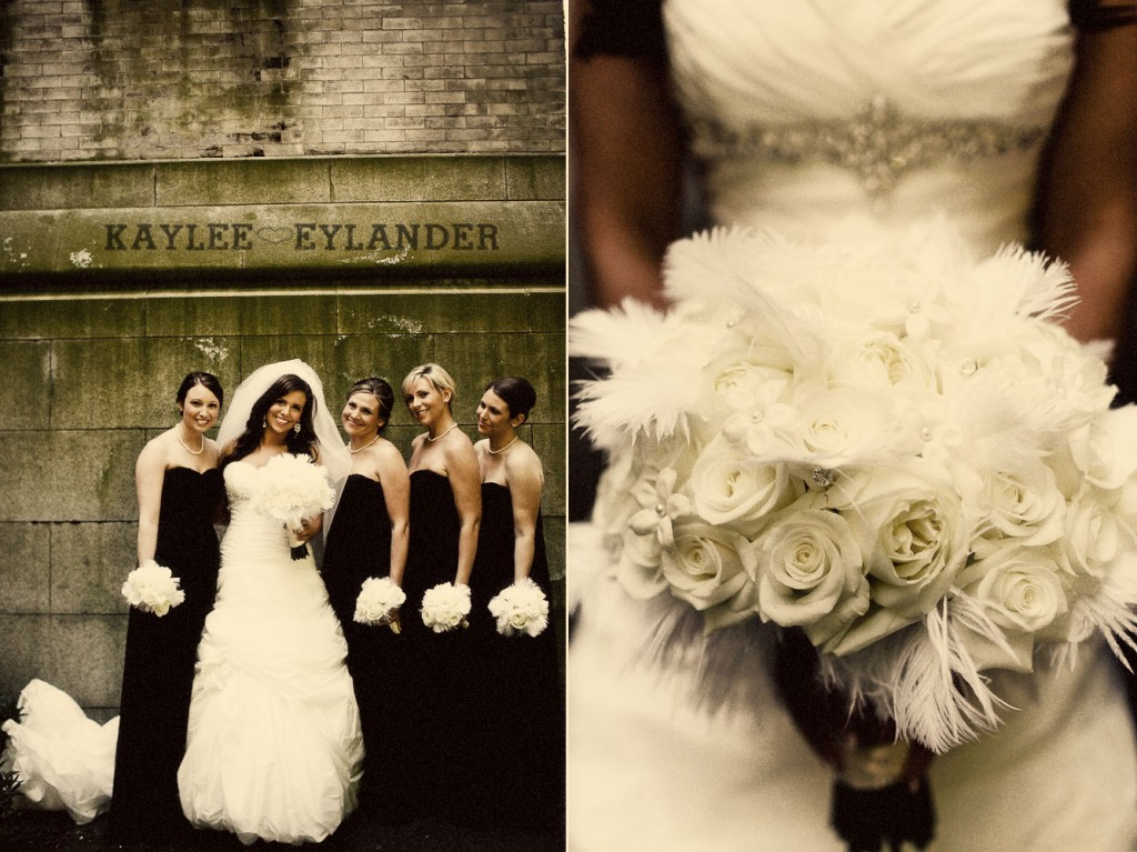 modern glam wedding party st. James cathedral 203 1024x767 St. James Cathedral Wedding & Kensington Garden Reception