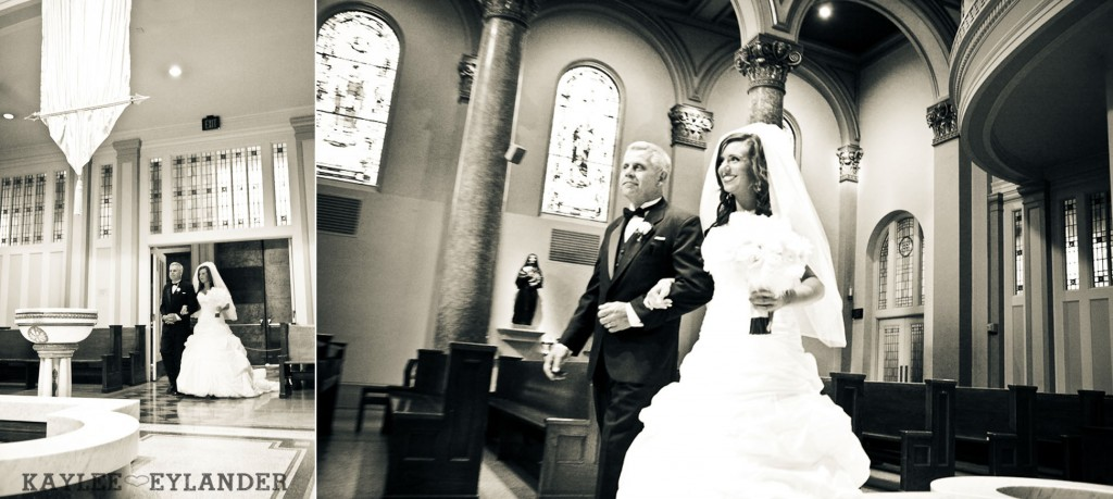modern glam wedding st. James cathedral Ceremony 304 1024x459 St. James Cathedral Wedding & Kensington Garden Reception