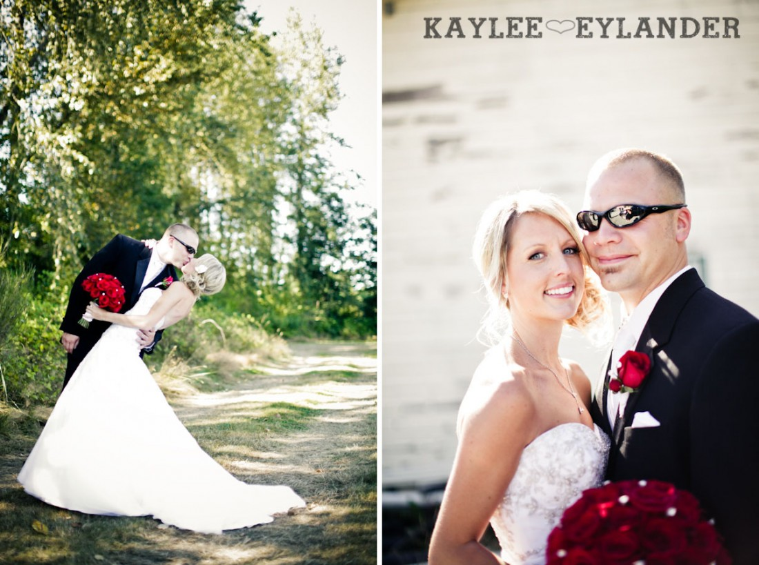 Echo Falls Wedding 24 1100x819 Motorcycles, Brides and Red Roses | Sneak Peak | Snohomish Wedding Photographers