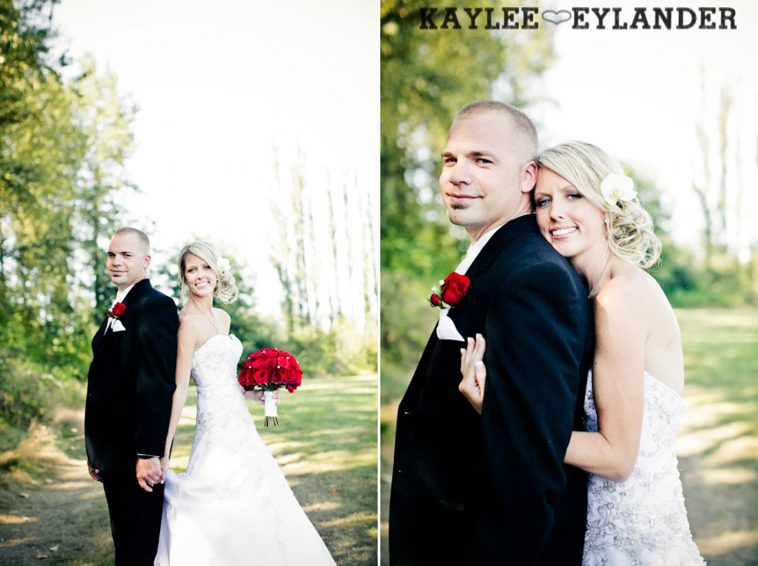 Echo Falls Wedding 26 1100x822 Motorcycles, Brides and Red Roses | Sneak Peak | Snohomish Wedding Photographers