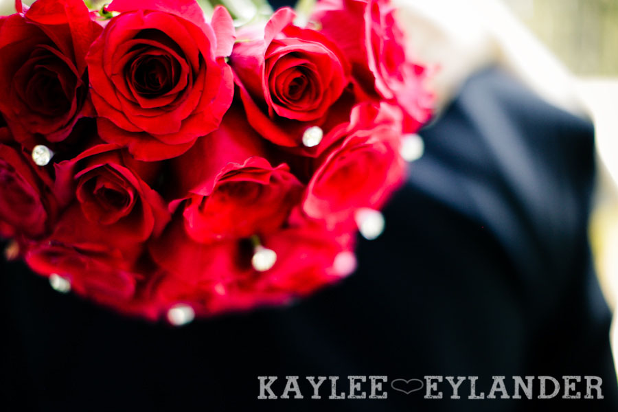 Echo Falls Wedding 6 Motorcycles, Brides and Red Roses | Sneak Peak | Snohomish Wedding Photographers