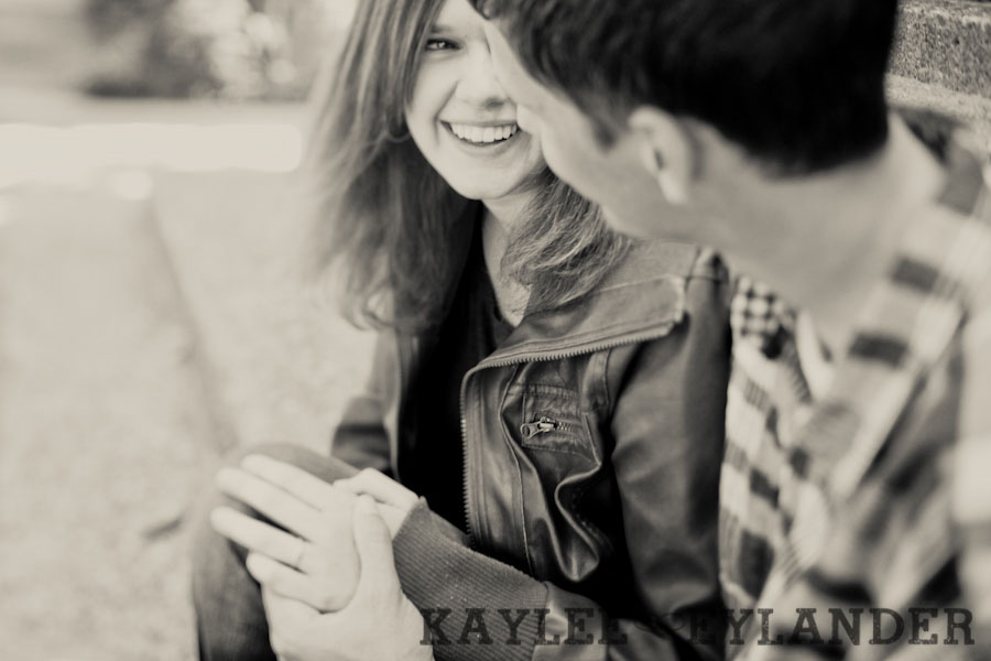 Seattle Pacific University SPU Engagement Session 8 Seattle Pacific University Engagment Session | Kaylee Eylander Photography
