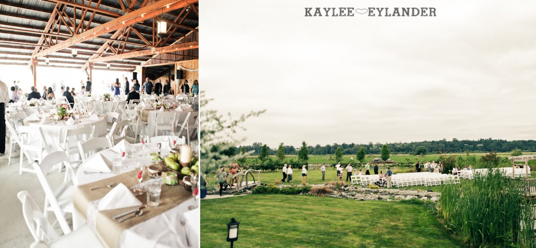 Swans Trail Farm Wedding Ceremony 14 1100x509 Swans Trail Farm Wedding | Pears, Raspberries and little white lights