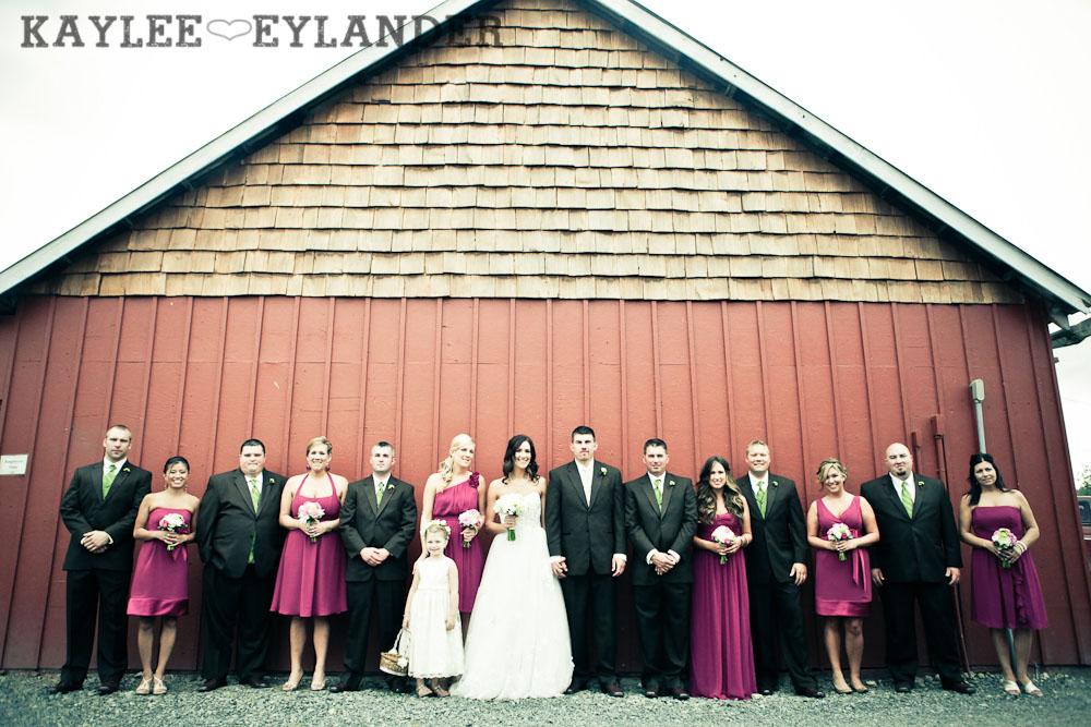 Swans Trail Farm Wedding Party 1 Swans Trail Farm Wedding | Pears, Raspberries and little white lights