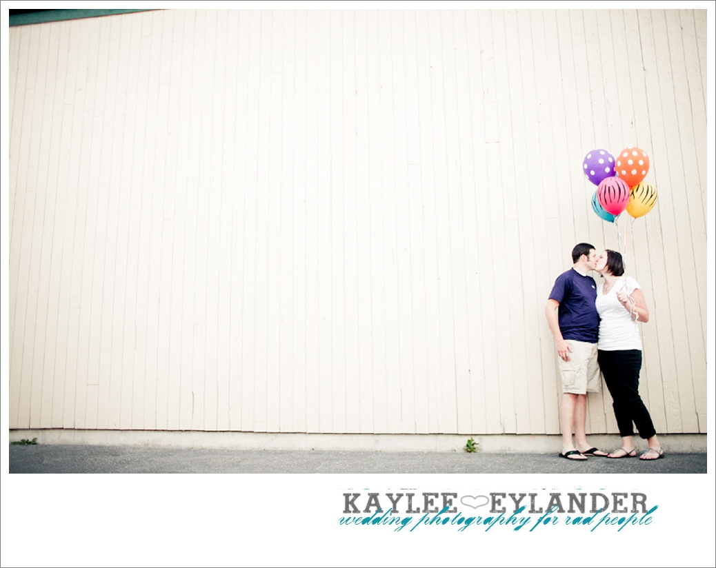 Beach Engagement Session 26 Beach & Balloon Engagement Session | Snohomish Wedding Photographer