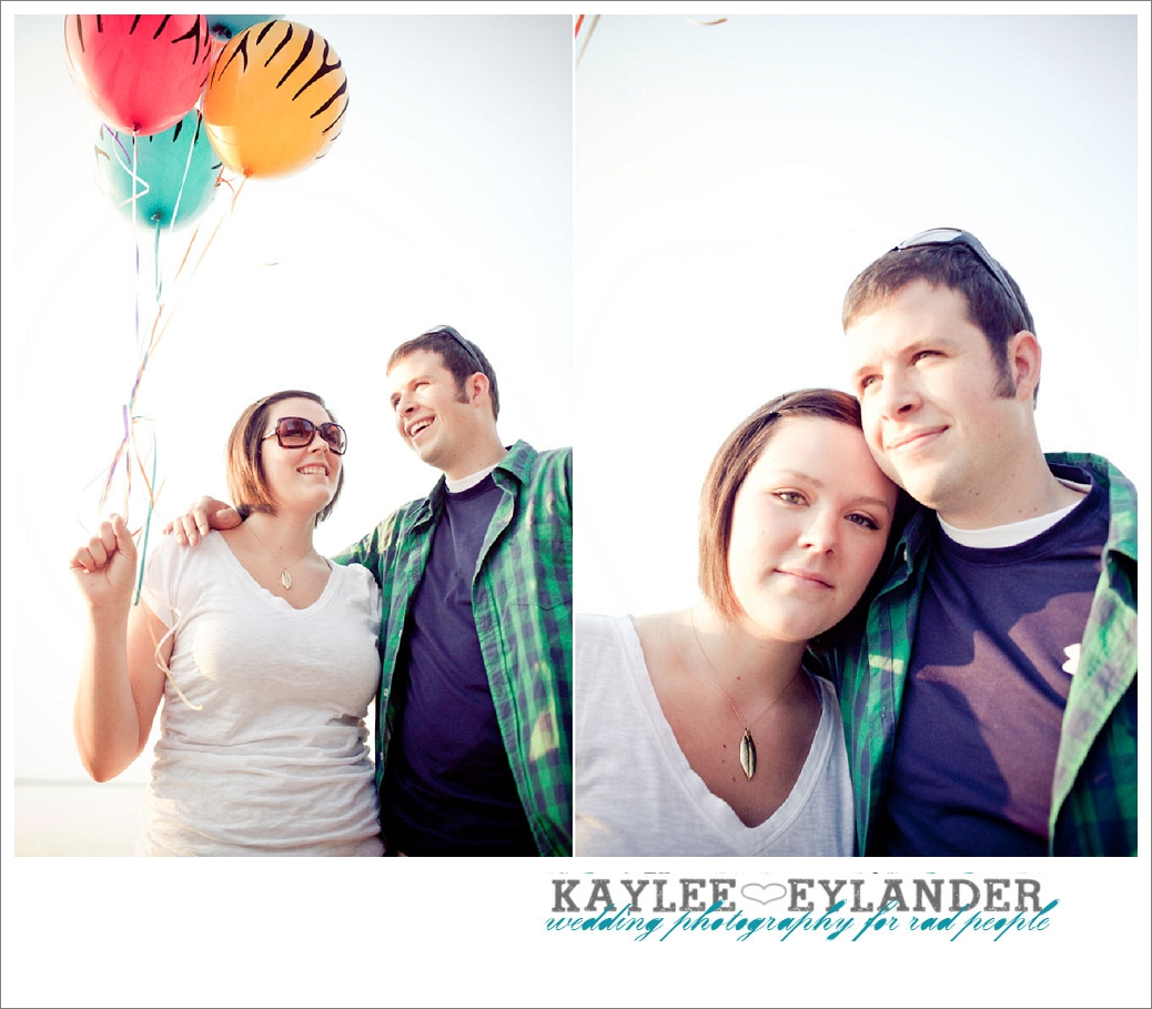 Beach Engagement Session 3 Beach & Balloon Engagement Session | Snohomish Wedding Photographer