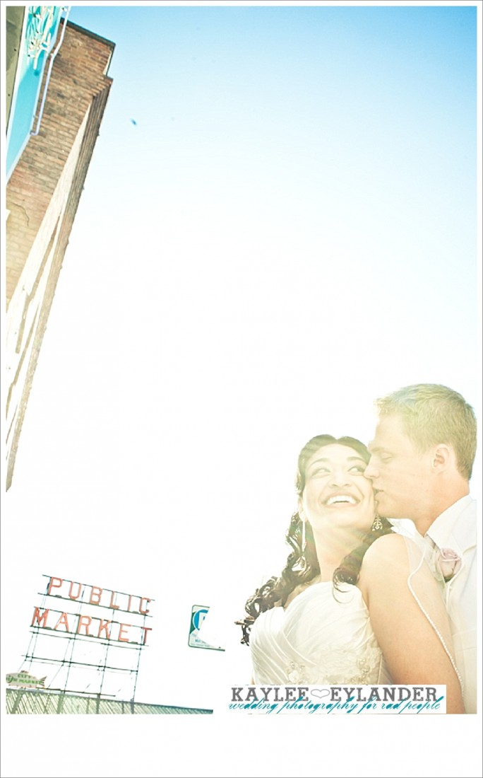 Pike Place Wedding Bride Groom 22 684x1100 Pike Place First Look   Seattle Wedding Photographer   First Look