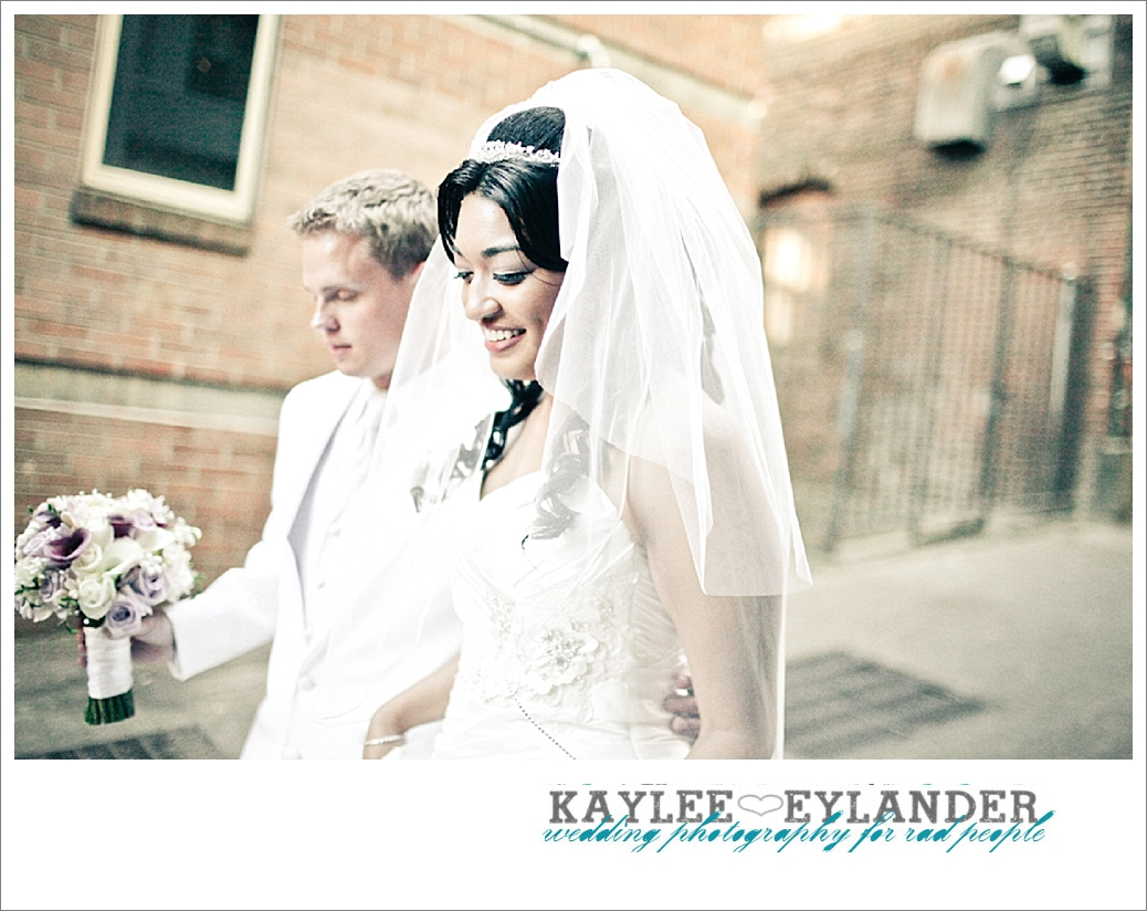 Pike Place Wedding Bride Groom 51 Pike Place First Look   Seattle Wedding Photographer   First Look