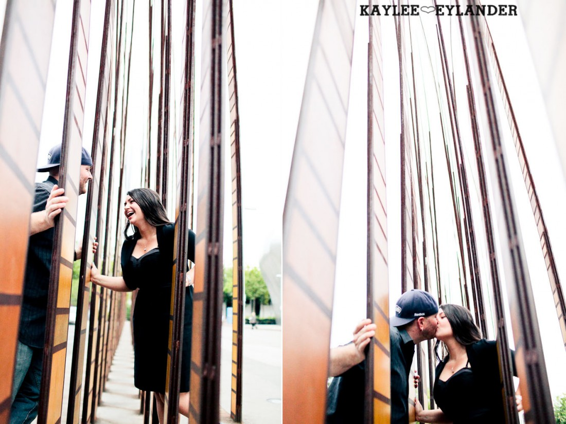 Seattle Space Needle Engagement Photographer 20 1100x825 Seahawks & Seattle Space Needle Engagement Session |  Century Link Field Session