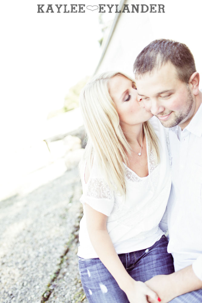 Camano Island Beach Engagement 12 Camano Island Beach Engagement | Kaylee Eylander Photography