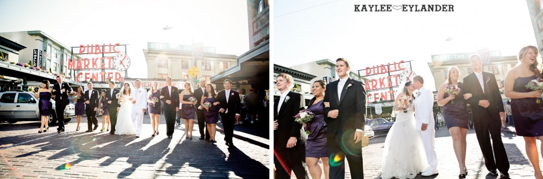 Hotel W Seattle Modern Wedding 307 1100x363 Pike Place & Hotel W Seattle Wedding | Seattle Wedding Photographer