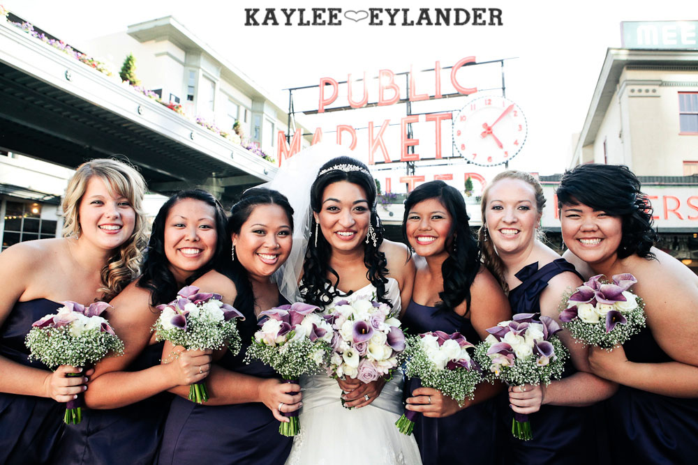 Hotel W Seattle Modern Wedding 309 Pike Place & Hotel W Seattle Wedding | Seattle Wedding Photographer