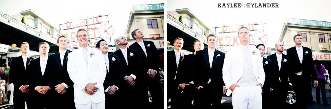 Hotel W Seattle Modern Wedding 310 1100x363 Pike Place & Hotel W Seattle Wedding | Seattle Wedding Photographer