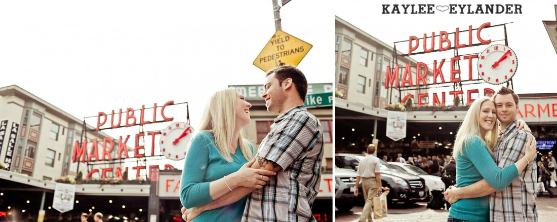 Pike Place Engagement Seattle 3 1100x438 Pike Place Market Engagement Session | Urban Seattle