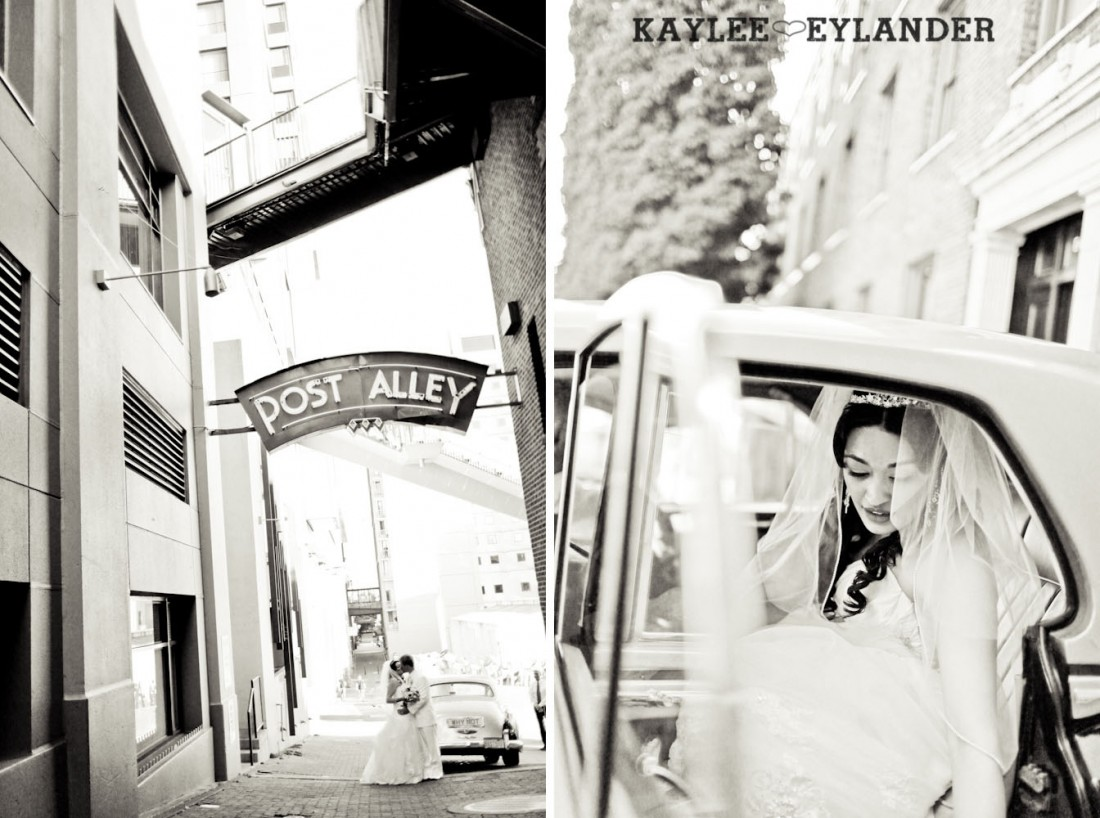 Pike Place Wedding Bride Groom 54 1100x818 Pike Place & Hotel W Seattle Wedding | Seattle Wedding Photographer